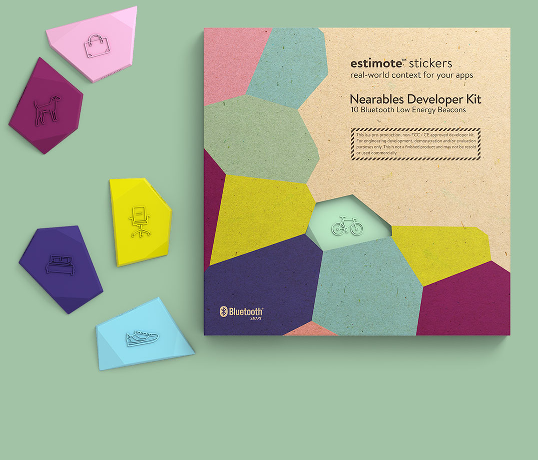 Estimote Stickers Developer Kit
